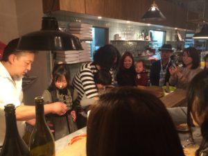ローマピッツァ作り体験