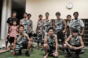バスケットチームCRIMINAL