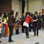 千里 岡山商科大学附属高校イベント 赤十字さん